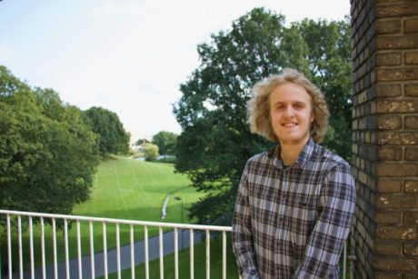 Peter fra Studenterrådets forretningsudvalg. Foto: Andreas Friis